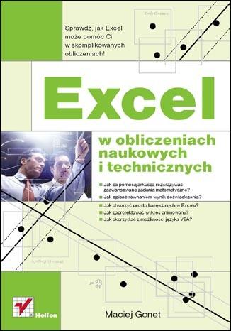 Excel w obliczeniach naukowych i technicznych. eBook