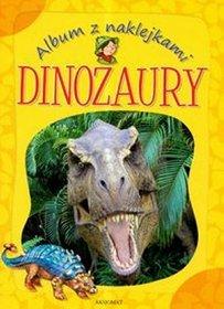 Album z naklejkami Dinozaury
