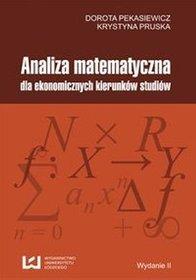 EBOOK Analiza matematyczna dla ekonomicznych kierunków studiów