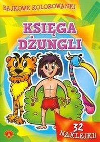 Bajkowe kolorowanki Księga dżungli