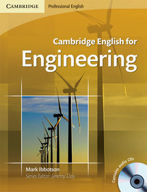 Cambridge English for Engineering Book with 2 Audio CDs