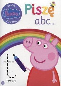 Ćwiczę z Peppą. Piszę abc...