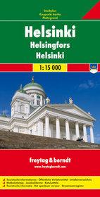 Helsinki mapa 1:15 000 Freytag  Berndt