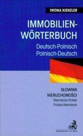 Immobilien woerterbuch Słownik nieruchomości niemiecko-polski polsko-niemiecki