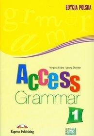 Język angielski. Access 1. Grammar. Klasa 1-3. Materiały pomocnicze - gimnazjum