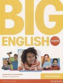 Język angielski. Big English Starter. Klasa 1-3. Zeszyt ćwiczeń - szkoła podstawowa