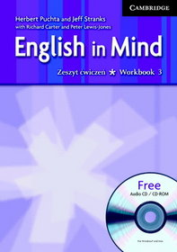 Język angielski. English in Mind 3 Workbook with Audio CD/CD-ROM, gimnazjum
