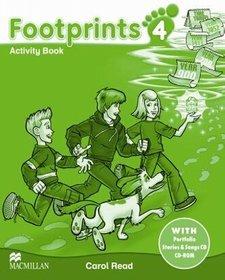 Język angielski. Footprints 4. Klasa 1-3. Zeszyt ćwiczeń - szkoła podstawowa
