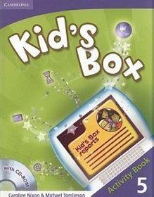 Język angielski. Kid's Box 5. Klasa 4-6. Zeszyt ćwicczeń (+CD) - szkoła podstawowa