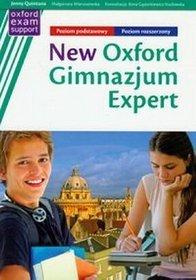 Język angielski. New Oxford Expert - podręcznik z repetytorium, poziom podstawowy/rozszerzony, gimnazjum