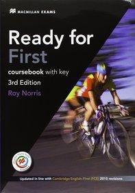 Język angielski. Ready for First. 3rd edition. Klasa 1-3. Podręcznik (+CD) - szkoła ponadgimnazjalna