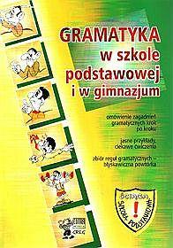 Język polski - gramatyka, szkoła podstawowa i gimnazjum