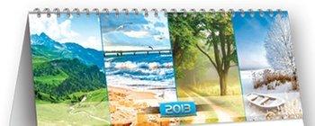 Kalendarz 2013. Kalendarz biurkowy - Tygodniowy