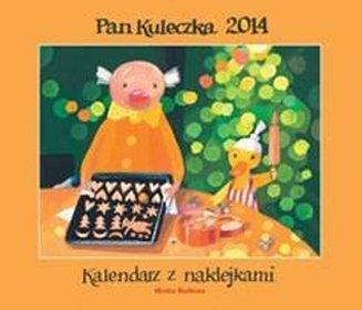 Kalendarz 2014. Pan Kuleczka - kalendarz ścienny z naklejkami