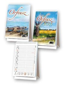Kalendarz 2015. Kalendarz biurowy. BF2 Orfeusz