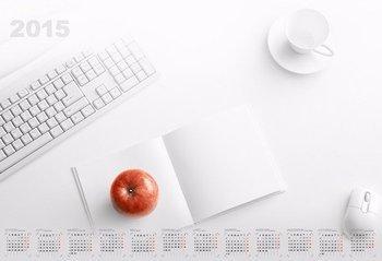 Kalendarz 2015. Kalendarz BL_158 blokowy roczny standardowy. Office - rozmiar 60 x 41cm