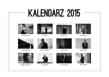 Kalendarz 2015. Kalendarz Fundacji Start z Kulturą - ścienny