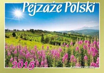 Kalendarz 2015. Kalendarz rodzinny ścienny. WL3 Pejzaże Polski - rozmiar 28 x 20cm