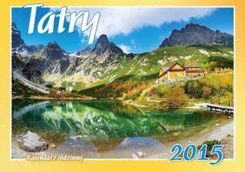 Kalendarz 2015. Kalendarz rodzinny ścienny. WL5 Tatry - rozmiar 28 x 20cm