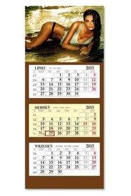 Kalendarz 2015. Kalendarz ścienny trójdzielny. Model SB6