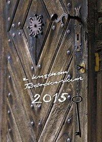 Kalendarz 2015. Kalendarz z księdzem Twardowskim. Klucz - książkowy A6