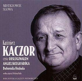 Kazimierz Kaczor czyta