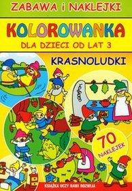 Kolorowanka Krasnoludki