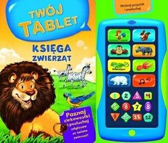 Księga zwierząt Twój tablet