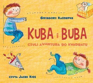 Kuba i Buba, czyli awantura do kwadratu - audiobook (CD MP3)