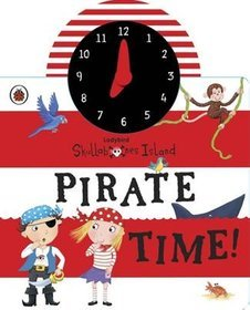 Ladybird Skullabones Island: Pirate Time! Clock Book