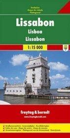 Lizbona mapa 1:15 000 Freytag  Berndt