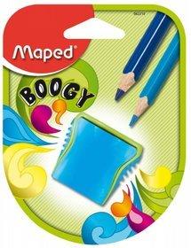 Maped - Temperówka Boogy z pojemnikiem, 2 otwory, mix kolorów
