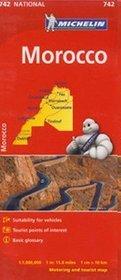 Maroko. Mapa w skali 1:1 000 000