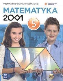 Matematyka. Matematyka 2001. Klasa 5. Podręcznik (+CD) - szkoła podstawowa