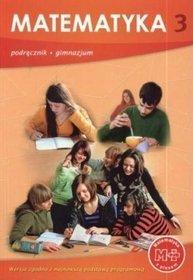 Matematyka z plusem - podręcznik, klasa 3, gimnazjum