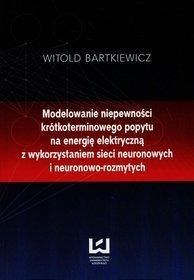 EBOOK Modelowanie niepewności krótkoterminowego popytu na energię elektryczną z wykorzystaniem sieci