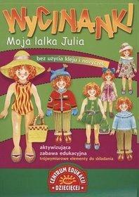 Wycinanki Moja lalka Julia