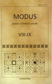 Mondus Prace z historii sztuki  VIII - IX