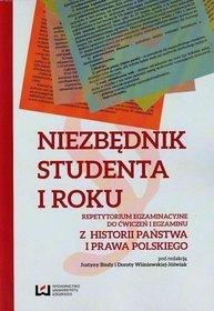 EBOOK Niezbędnik studenta I roku. Repetytorium egzaminacyjne do ćwiczeń i egzaminu z historii państwa i prawa polskiego