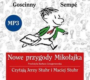 AUDIOBOOK Nowe przygody Mikołajka