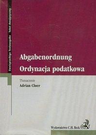 Ordynacja podatkowa Abgabenordunug