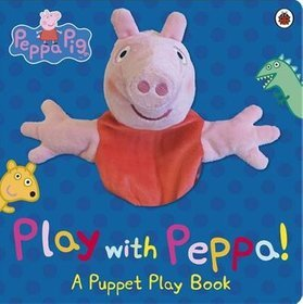 Peppa Pig Play with Peppa Hand Puppet Book