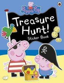 Peppa Pig: Treasure Hunt! Sticker Book -