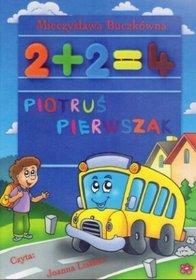 Piotruś pierwszak - książka audio na CD (format mp3)