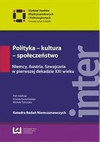 Polityka - kultura - społeczeństwo