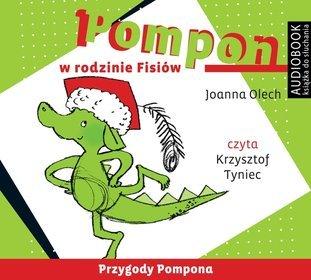 Pompon w rodzinie Fisiów - audiobook (CD MP3)