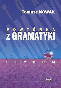 Powtórka z gramatyki - liceum