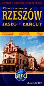 Rzeszów. Plan miasta skala 1:15000