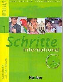 Schritte international 1. Kursbuch + Arbeitsbuch (+CD)