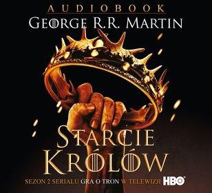Starcie królów - książka audio na 2CD (format MP3)